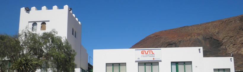 Exterior del Campus Universitario de Tahíche (Lanzarote)