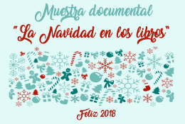 """Muestra documental """"La Navidad en los libros"""""""