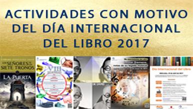 Vídeo promocional con motivo de la celebración del Día Internacional del Libro 2017