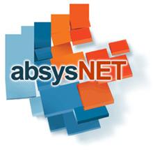 Logo representativo de absysNET, el Catálogo de la Biblioteca Universitaria