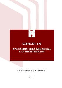 Vista de la portada del informe