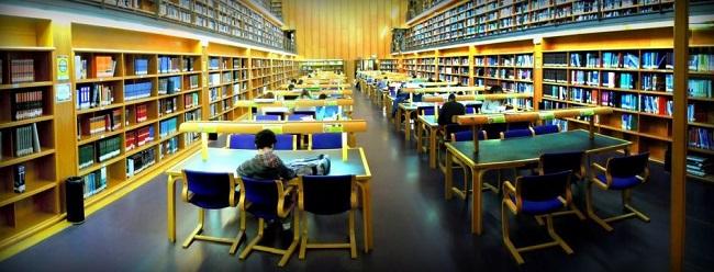 Vista de la Sala General de Lectura