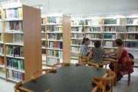 Estudiantes en la Biblioteca de Enfermería (Lanzarote)