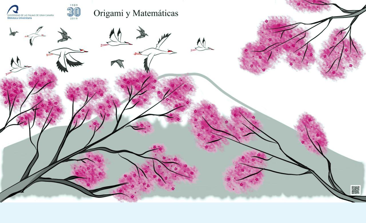 Cartel de la exposición 'Origami y Matemáticas'