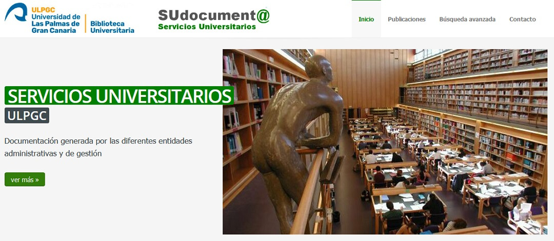 Interfaz del portal SUdocument@